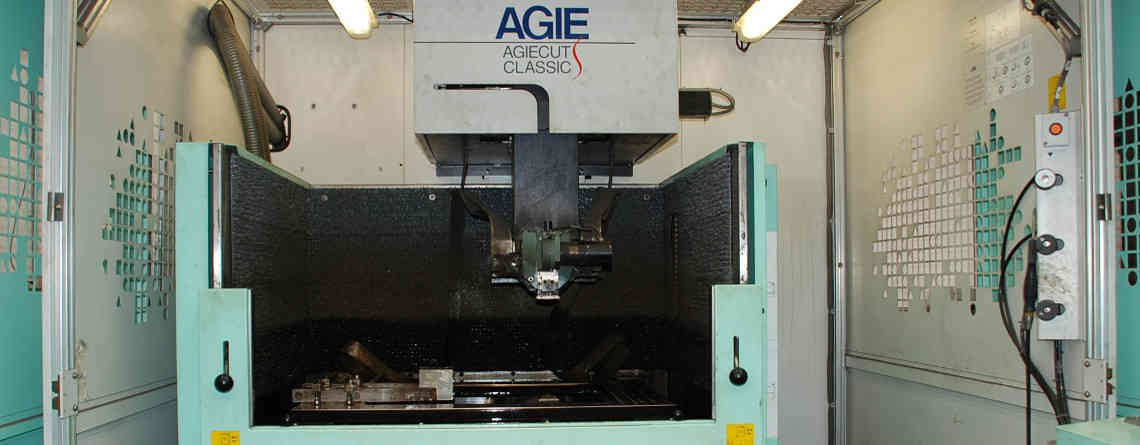 EDM wire cutting