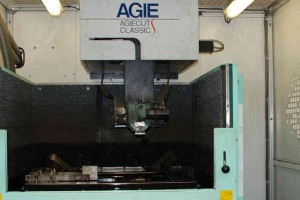 EDM wire cutting at Larego Toolmaking