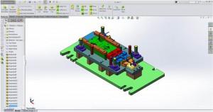 Solidworks toolmaking software at Larego Toolmaking