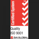Larego is ISO quality certified